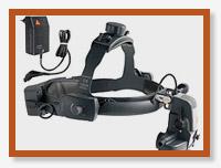 Офтальмоскоп OMEGA 500  XHL/LED  UNPLUGGED (зарядка на шлеме)