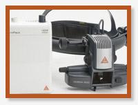 Офтальмоскоп OMEGA 500 XHL/LED с прямым сетевым питанием, с mPack