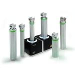Зарядный блок NT300 автоматически заряжает перезаряжаемые аккумуляторы HEINE