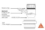 SLR-фотоадаптер для дерматоскопа DELTA 20 и цифровых SLR (зеркальных) фотокамер